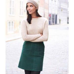 Boden Annabel Stretch A-line Skirt